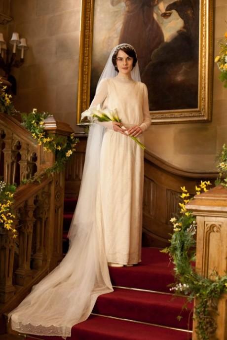 Downton Abbey wedding dress