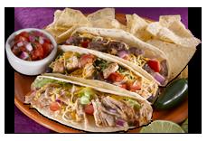 Salsarita's soft tacos